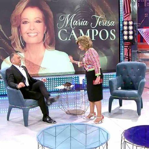 María Teresa Campos protagoniza este bochornoso video junto Jorge Javier Vázquez 7